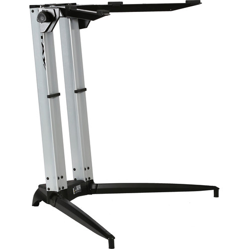 STAY 700-01 Sitting Height Single-Tier Keyboard Stand (Silver)