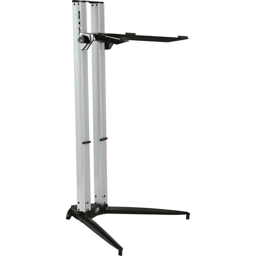 STAY Piano Series 44 Single-Tier Keyboard Stand (Silver)