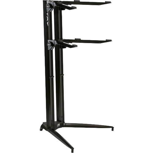 STAY Piano Series 44 Double-Tier Keyboard Stand (Black)
