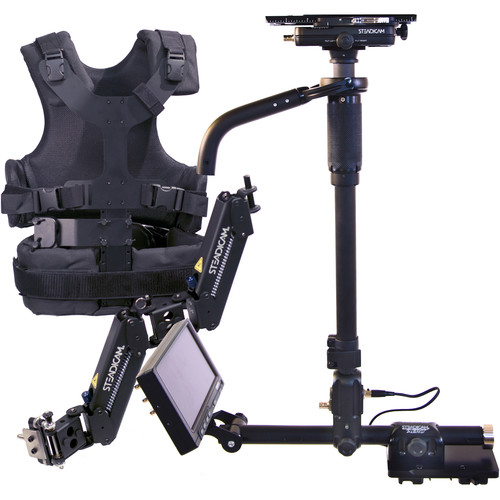 """Steadicam AERO 15 Stabilizer System with Gold Mount Battery Plate and 7"""" Monitor"""