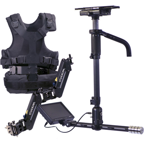 """Steadicam AERO 15 Stabilizer System with Canon LP-E6 Battery Plate and 7"""" Monitor"""