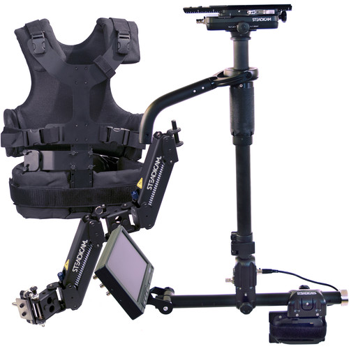 """Steadicam AERO 15 Stabilizer System with Panasonic D28 Battery Plate and 7"""" Monitor"""