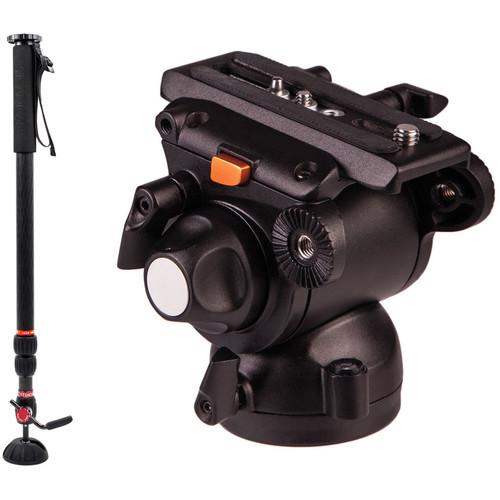 Steadicam AIR 25 Monopod with E-Image GH03 Fluid Head Kit