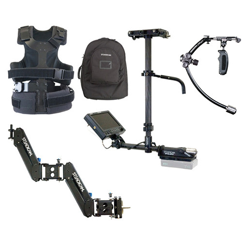 Steadicam Camera Stabilizer Kit with Merlin 2 and Pilot-VL System with V-Lock Mount