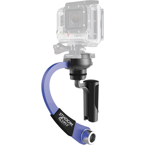 Steadicam Curve for GoPro HERO Action Cameras (Blue)