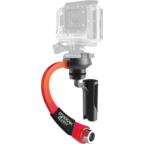 Steadicam Curve for GoPro HERO Action Cameras (Red)