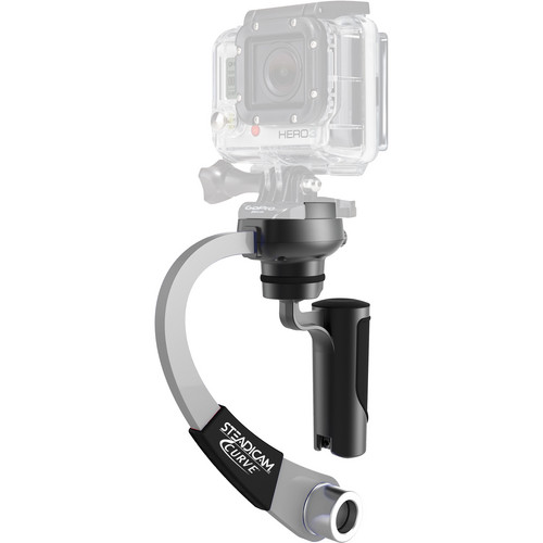 Steadicam Curve for GoPro HERO Action Cameras (Silver)