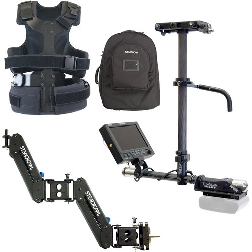 Steadicam Pilot HD-SDI Sled with AB Battery Plate, Vest, Merlin Stabilizer Kit