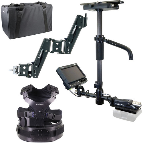 Steadicam Scout HD Camera Stabilizer with Compact Vest and Gold Mount Battery Mount