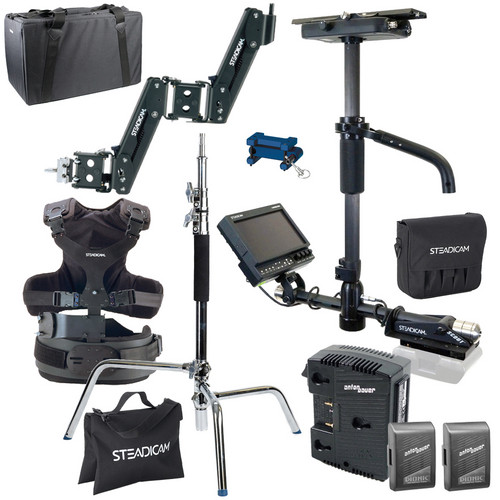 Steadicam Scout HD Camera Stabilizer System Production Starter Kit with Anton Bauer Mount
