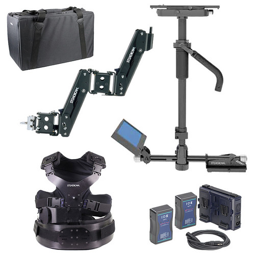 Steadicam Scout Stabilizing System with Compact Vest, V-Mount, and Charger
