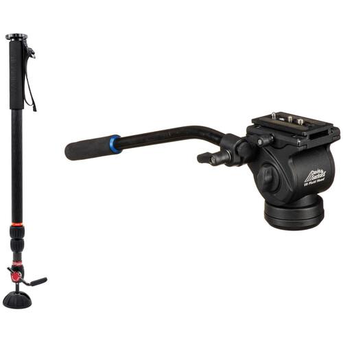 Steadicam AIR 25 Monopod with Davis & Sanford V9 Fluid Video Head