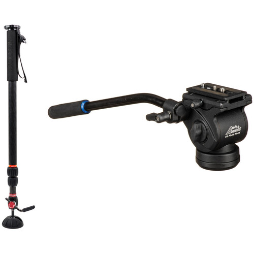 Steadicam AIR 25 Monopod with Davis & Sanford V9 Fluid Video Head
