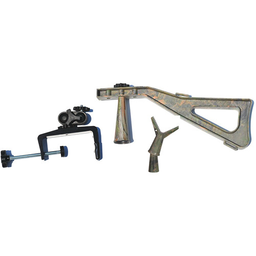 Stedi-Stock Black Combo with Quick Release Rifle Rest