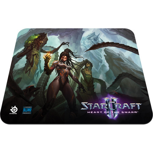 SteelSeries QcK StarCraft II Heart of the Swarm Mouse Pad (Kerrigan Edition)