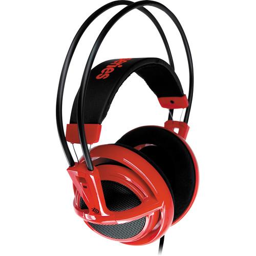 SteelSeries Siberia V2 Full Size Gaming Headset (Red)