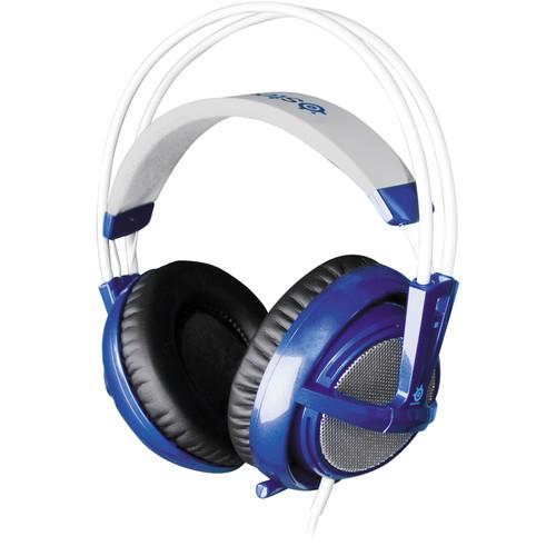 Traveling case headphones - SteelSeries Siberia V2 Gaming Headset (Blue) Overview