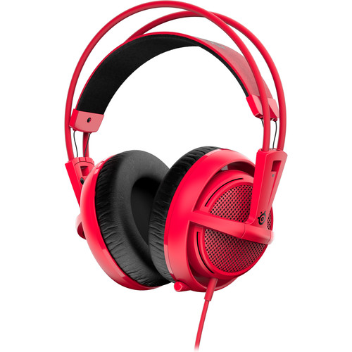 SteelSeries Siberia 200 Gaming Headset (Forged Red)