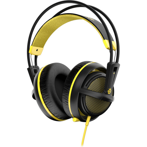 SteelSeries Siberia 200 Gaming Headset (Proton Yellow)