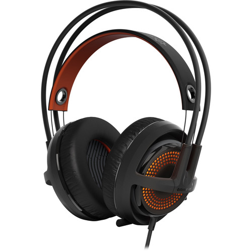 SteelSeries Siberia 350 Gaming Headset (Black & Orange)