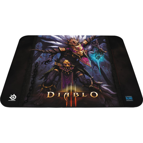 SteelSeries QcK Diablo III Gaming Mouse Pad (Witch Doctor Edition)
