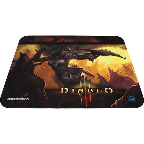 SteelSeries QcK Diablo III Gaming Mouse Pad 67227 B&H Photo