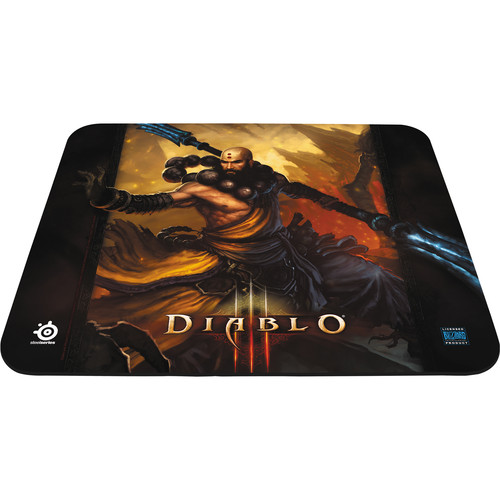 SteelSeries QcK Diablo III Gaming Mouse Pad (Monk Edition)
