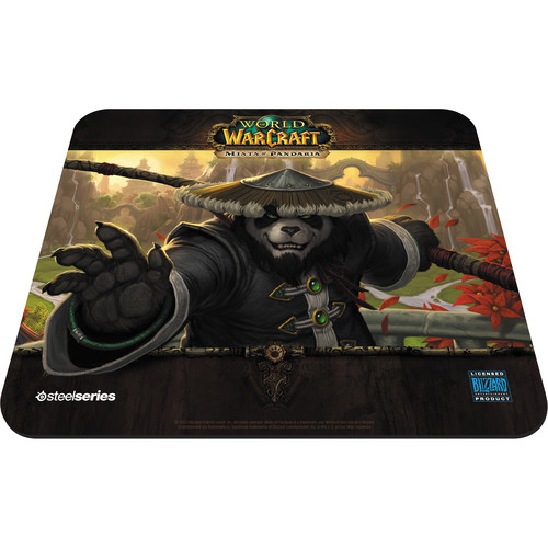 SteelSeries QcK Panda Monk Edition Mouse Pad