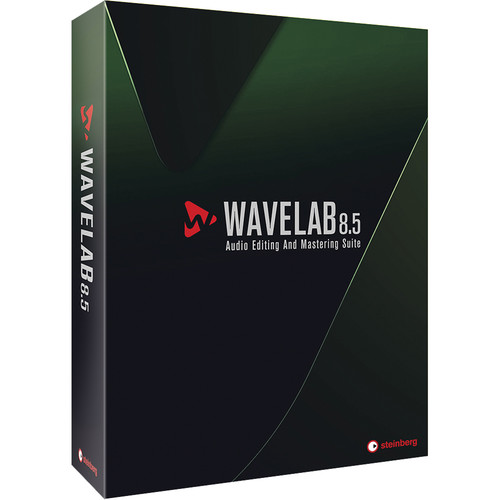 Steinberg WaveLab 8.5 - Audio Editing and Processing Software