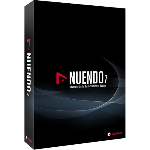 Steinberg Nuendo 7 + NEK Upgrade - Audio Post-Production Software Environment (From Version 6.5 + NEK)