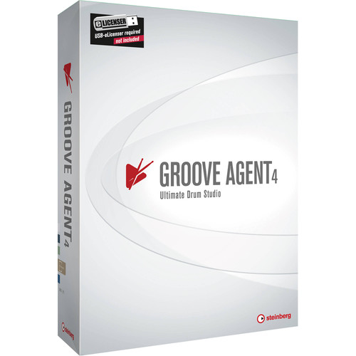 Steinberg Groove Agent 4 - Virtual Drum Workstation Software (Educational, Download)