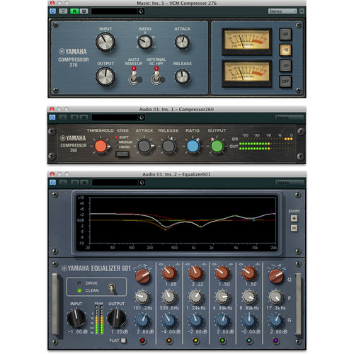 Steinberg Vintage Channel Strip - EQ and Compressor Plug-In Collection for Pro Audio Applications (Download)