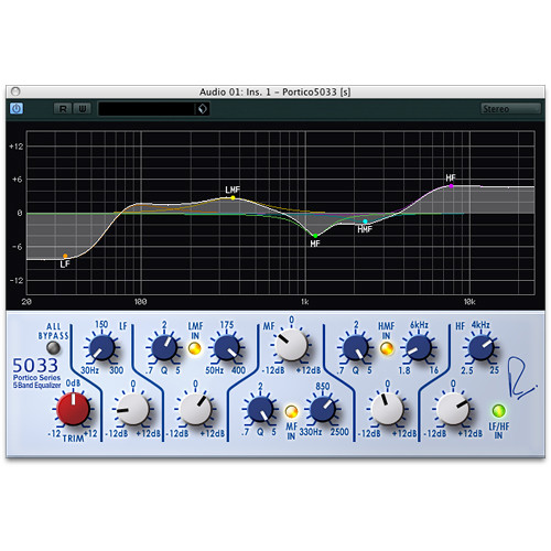 Steinberg RND Portico 5033 EQ - 5-Band Equalizer Plug-In (Download)