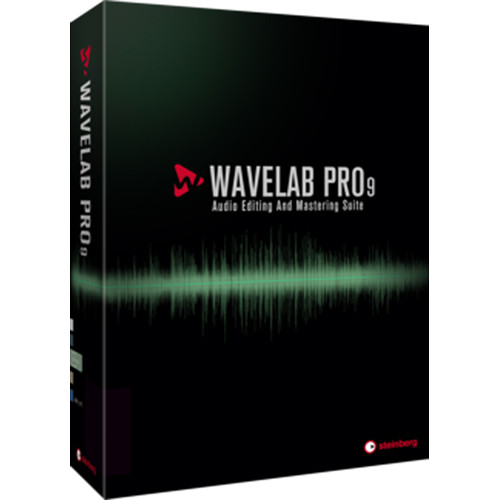 Steinberg WaveLab Pro 9 - Audio Editing and Processing Software (Educational)