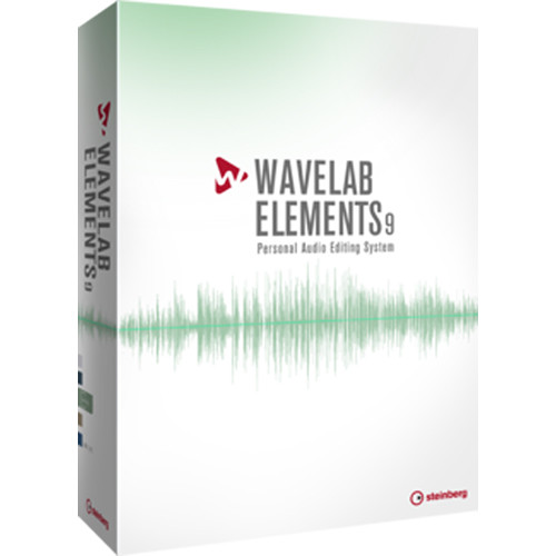 Steinberg WaveLab Elements 9 - Audio Editing and Processing Software (Educational)