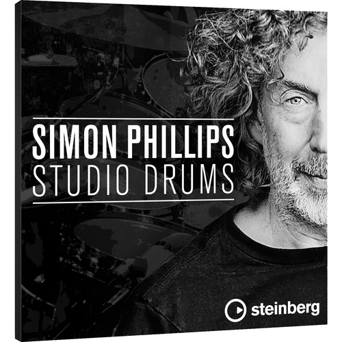 Steinberg Simon Phillips Studio Drums - VST Drum Library for Groove Agent Drum Workstation (Download)