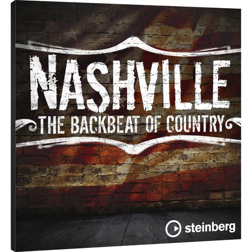 Steinberg Nashville Drums - VST Sound Instrument Set for Groove Agent Drum Workstation (Download)