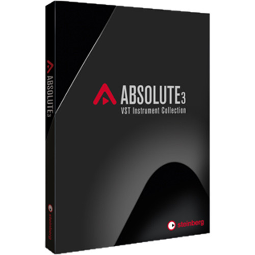Steinberg Absolute 3 - Software Collection with Virtual Instruments, Sampler, and Workstation (Boxed)