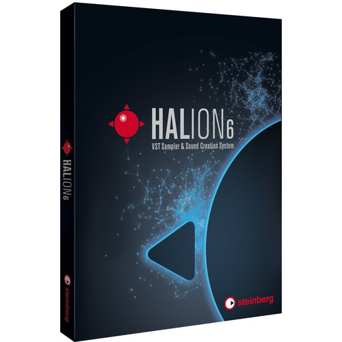 Steinberg HALion 6 - Virtual Sampling and Sound Design Software (Educational, Download)