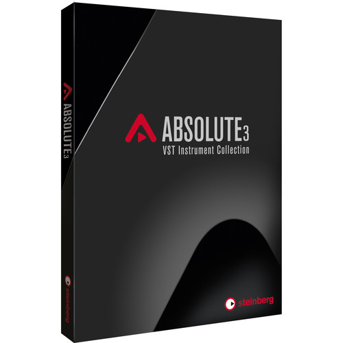 Steinberg Absolute 3 - VST Instrument Plug-In Collection (Download)