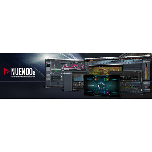 Steinberg Nuendo 8 - Audio Post-Production Software Environment (Educational Student)