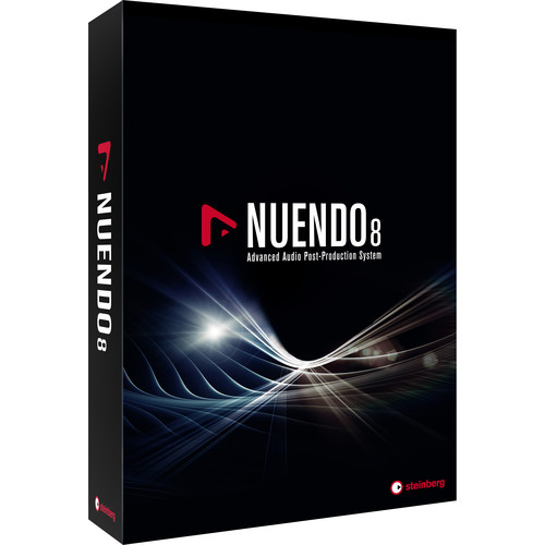 Steinberg Nuendo 8 Audio Post-Production Software Environment (Download)