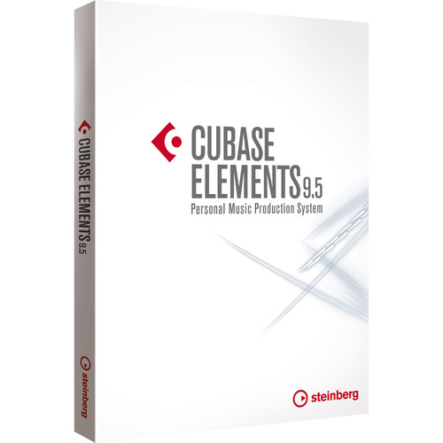 Steinberg Cubase Elements 9.5 Music Production Software (Download)