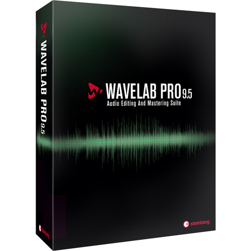 Steinberg WaveLab Pro 9.5 - Audio Editing and Processing Software (Upgrade from Version 9, Download)