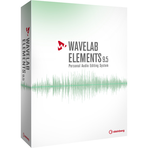Steinberg WaveLab Elements 9.5 - Audio Editing and Processing Software (Upgrade from Elements 8, Download)