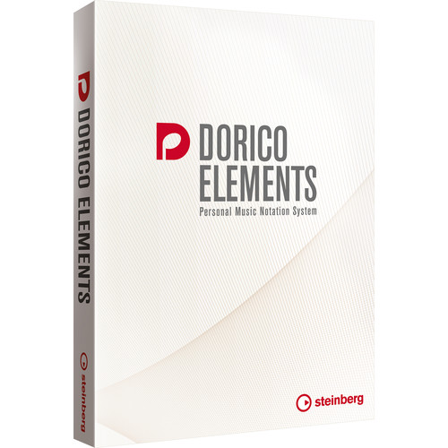 Steinberg Dorico Elements 2 - Elementary Music Notation Software (Educational, Boxed)