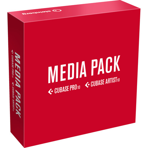 Steinberg Cubase Pro / Artist 10 Media Pack