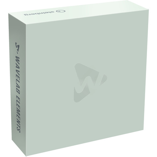 Steinberg WaveLab Elements 10 - Audio Editing and Processing Software (Boxed)