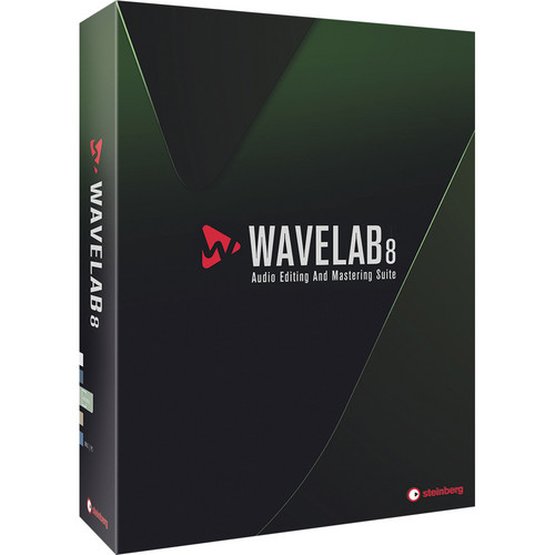 Steinberg WaveLab 8 - Audio Editing and Processing Software (Upgrade from WaveLab 7)