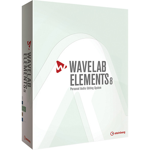 Steinberg Wavelab Elements 8 - Personal Audio Editing System (Educational Discount)